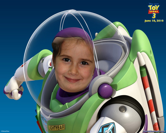 Fotoefecto Buzz Lightyear