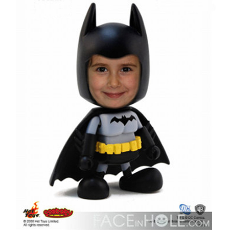 Fotoefecto Infantil de Batman