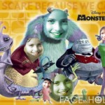 Fotomontajes gratis Monster University.