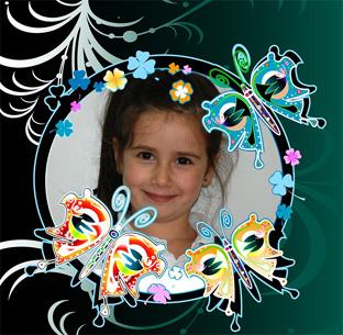 Butterfly effecto para niños