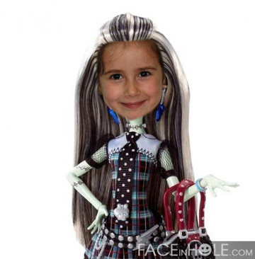 Fotomontaje Monster High
