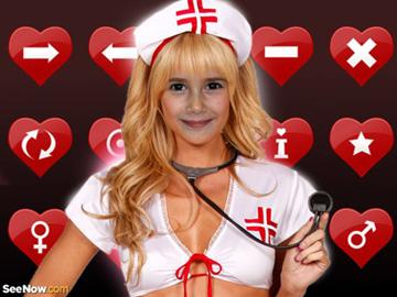 Fotomontajes de enfermeras