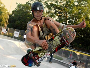 Fotomontajes de skaters