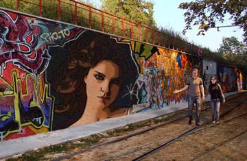 Fotomontaje Graffitis gratis