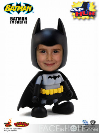 Fotoefecto Infantil Batman