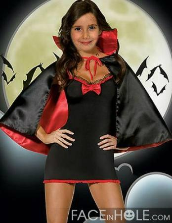 Fotomontaje para Halloween. Disfraz de Vampiro