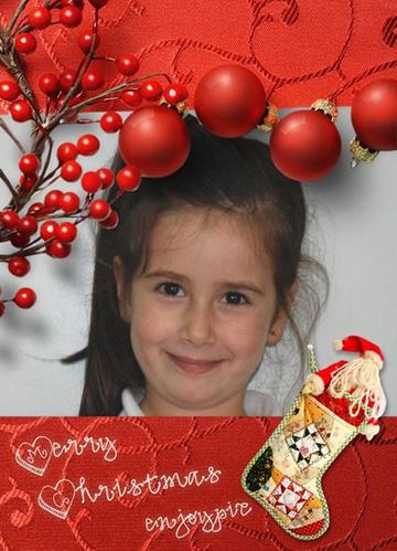 Fotoefectos navideños