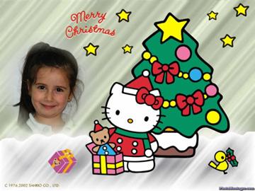 Fotomontajes infantiles navideños