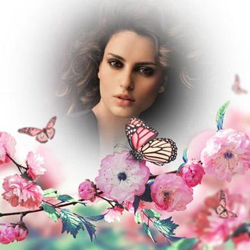 Montajes de Fotos con Flores Gratis.
